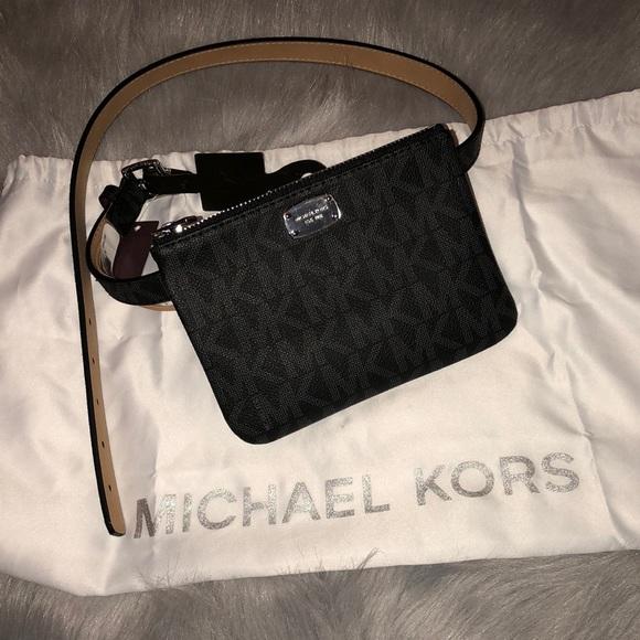 ec8dc573 Michael Kors Bags   Mk Belt Bag M Leather Belt Nwt For Manderz316 ...